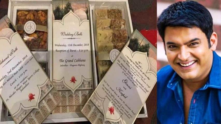 Kapil Ginni Wedding: Take a look at Kapil Sharma's exquisite wedding card | Boldsky