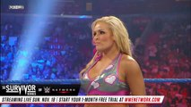 LayCool vs. Natalya - Handicap WWE Divas Championship Match - Survivor Series 2010