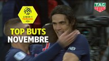 Top buts Ligue 1 Conforama - Novembre (saison 2018/2019)