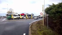 Meximieux/Pérouges: les Gilets jaunes bloquent l'accès du parc industriel aux poids lourds