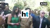 Watch: Priyanka Chopra and Nick Jonas make debut as married couple