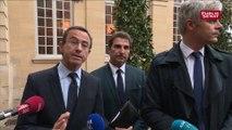 « Il faut simplement annuler la hausse des taxes. Le Sénat l'a déjà annulée » explique Bruno Retailleau (LR)