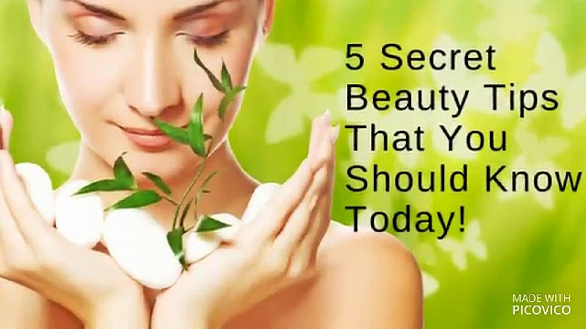 10 Secret Beauty Tips That You Should Know Today! - video Dailymotion
