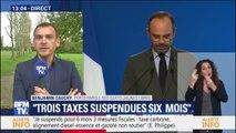 """""""Ce n'est pas ce que nous souhaitions"""" Benjamin Cauchy (Gilet jaune) espérait une annulation de la hausse des taxes sur le carburant"""