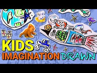 Kids Describe Their Toy's Adventures To An Illustrator | Kinder Surprise
