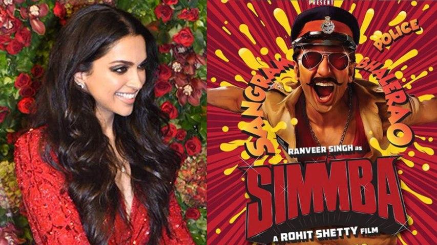 Deepika Padukone's reaction on Ranveer Singh's Simmba trailer; Watch video | Boldsky