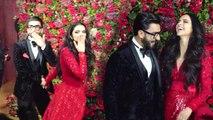Ranveer Singh & Deepika Padukone's GRAND Wedding reception for Bollywood Stars
