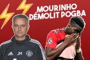 Mourinho démolit Pogba