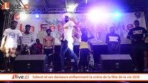 Safarel et ses danseurs enflamment la scène de la fête de la vie