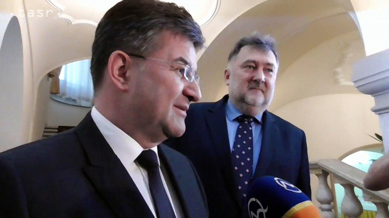 M.Lajčák: Vyjadrím sa až zajtra u prezidenta