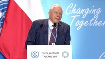 Sir David Attenborough Addresses U.N. Climate Conference
