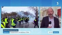 """""""Gilets jaunes"""" : comparutions immédiates à Paris"""