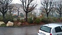 Orage à Auxerre lundi 3 décembre