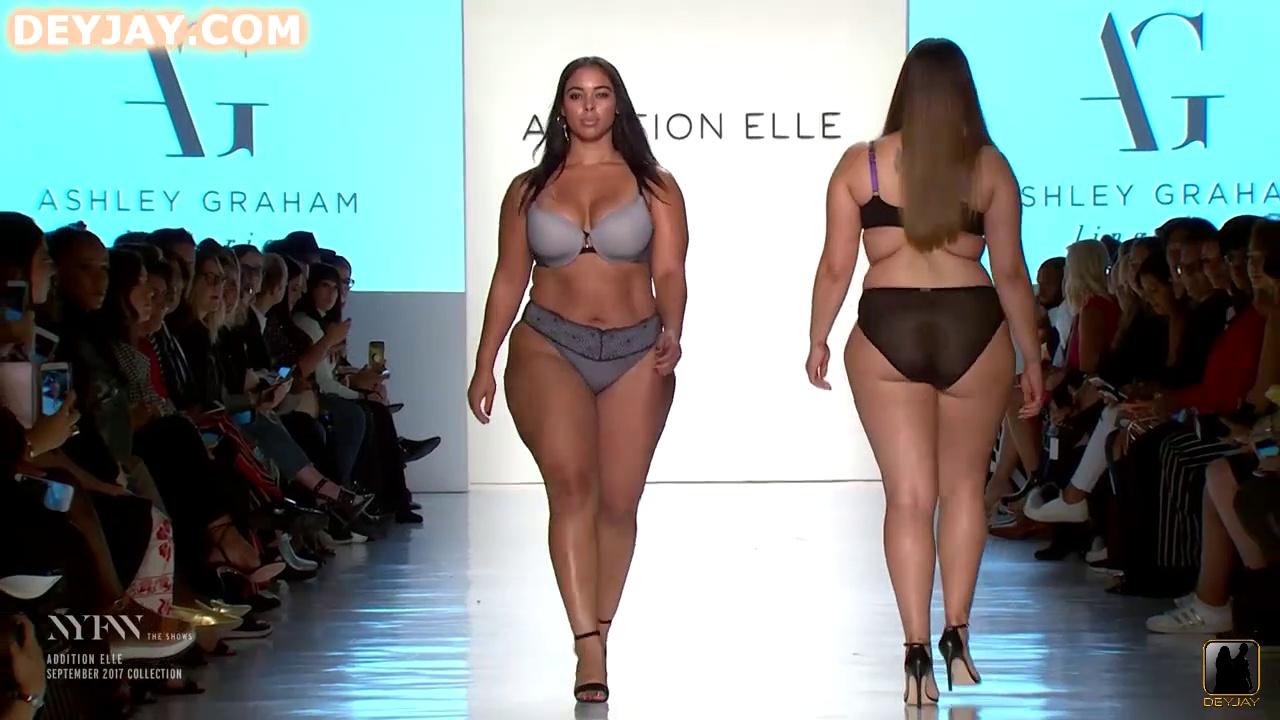 DeyJay ThickTV- New York Fashion Week Fall 2017 ADDITION ELLE. http://bit.ly/30bk0n0