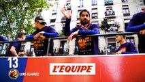 Luis Suarez (FC Barcelone) est 13e, comme en 2017 - Foot - Ballon d'Or