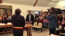 Honnelles : prestation de serment du nouveau bourgmestre Matthieu Lemiez