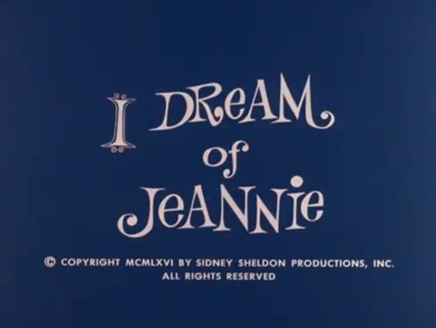 I Dream of Jeannie S-02 EP-25 - My Master, the Pirate (Season 2 Episode 25)