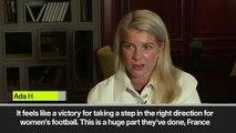 Eng Sub: 2018 Women's Ballon d'Or a victory for women's football says winner Ada Hegerberg