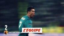 Cristiano Ronaldo (Real Madrid/Juventus Turin) se classe 2e - Foot - Ballon d'Or