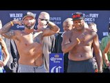 Luis Ortiz vs.Travis Kauffman WEIGH IN & FINAL FACE OFF | Wilder vs. Fury Undercard