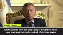 Eng Sub: Argentina president Macri vows of consequences after Copa Libertadores final fiasco