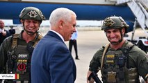 SWAT Officer Who Was Pictured Wearing QAnon Patch With Pence Has Been Demoted