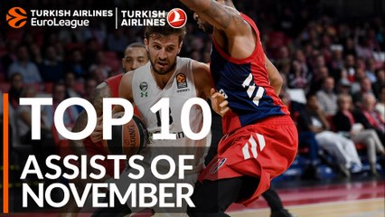 Top 10 Assists of November