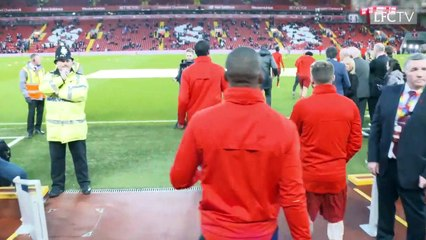Behind the scenes - LFC v Everton