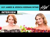 Mamma Mia Stars Lily James & Jessica Keenan Wynn Talk About Sneaking Out To Go To Parties| Hollywire