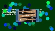 Review  The Innovators: How a Group of Inventors, Hackers, Geniuses, and Geeks Created the Digital