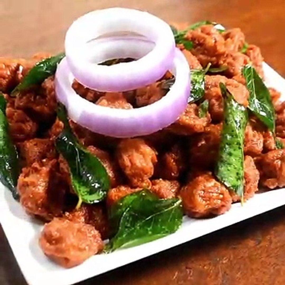soya kabab recipe - soya chunks recipe - soya bean recipe(1)
