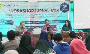 Workshop Jurnalistik KompasTV Universitas Jember
