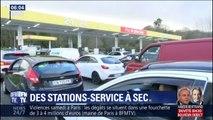 Dépôts pétroliers bloqués: en Bretagne, des stations-service sont à sec