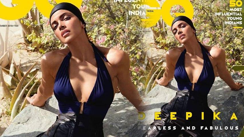 Deepika Padukone Stuns on the cover page of GQ India Magazine | Boldsky