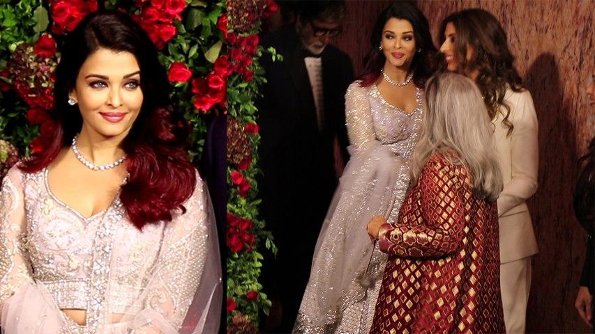Aishwarya Rai Bachchan's Akward Moment in Deepika Padukone & Ranveer Singh's Reception | Boldsky
