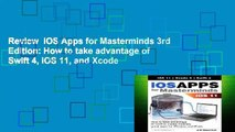 Review  iOS Apps for Masterminds 3rd Edition: How to take advantage of Swift 4, iOS 11, and Xcode