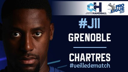 #J11 : GRENOBLE - CHARTRES #veilledematch