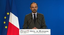 Édouard Philippe annonce un moratoire sur la hausse de la taxe carbone