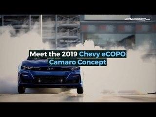 Chevy eCOPO Camaro Concept: Drag Racing Goes Electric