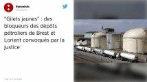 Les dépôts pétroliers de Lorient et Brest restent paralysés mardi.