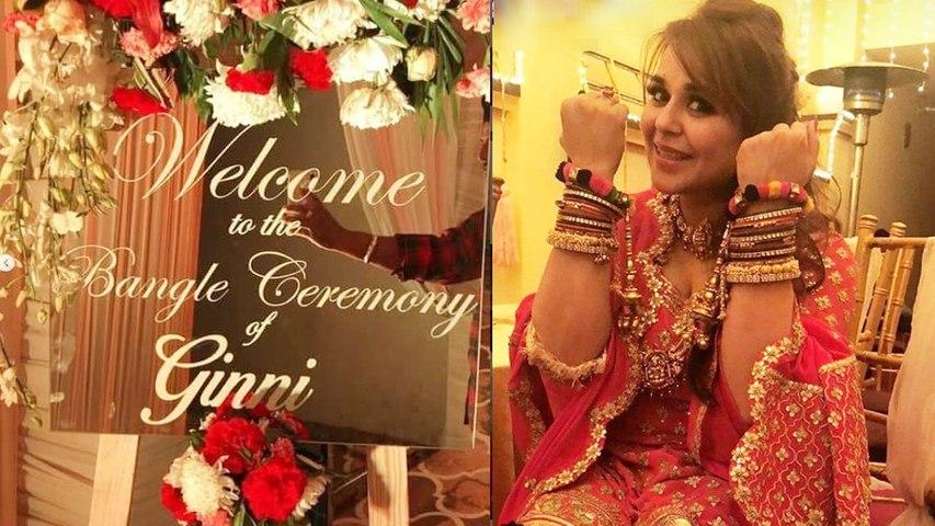 Kapil Sharma Wedding: Ginni Chatrath's Bangle Ceremony photos will win your heart| Boldsky