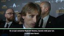 "Ballon d'Or - Modric : ""Varane était mon favori"""