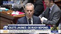 """Taxes suspendues: François de Rugy souligne """"un geste fort"""""""