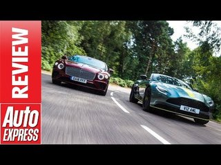 Aston Martin DB11 AMR vs Bentley Continental GT - which British GT coupe is best?