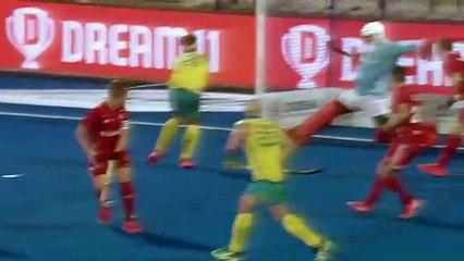 England vs Australia Highlights - Men's Hockey World Cup