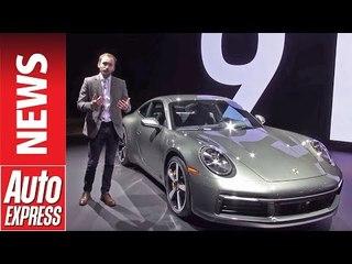 New Porsche 911 - latest 992-generation 911 is show stealer at LA
