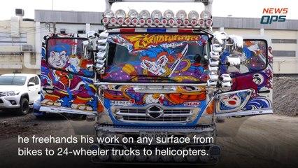 Truck Sticker Artist Thailand
