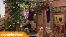L'école des chevaliers | Grattage de chewing-gum | Nickelodeon France