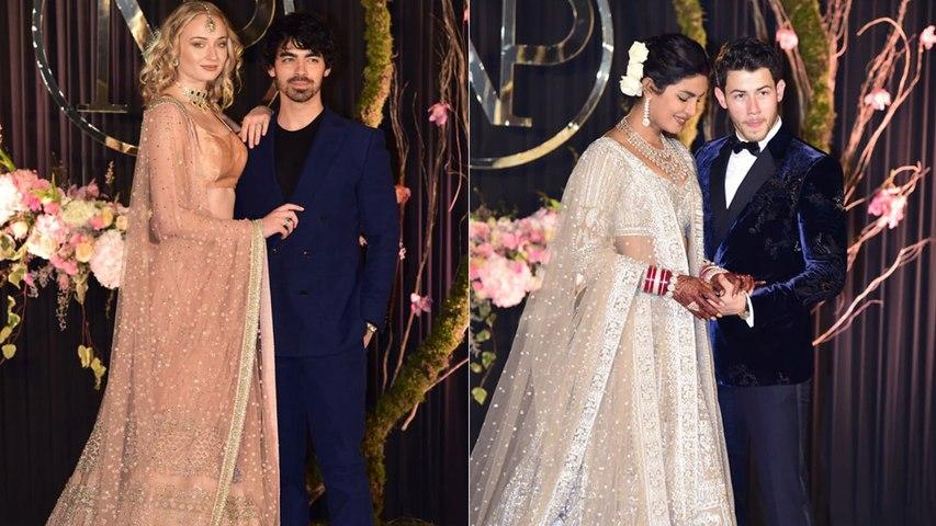 Priyanka Chopra और Nick Jonas के Reception में जेठानी Sophie Turner का gorgeous look | Boldsky