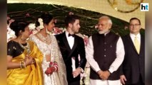 Watch: PM Modi attends Priyanka Chopra and Nick Jonas' wedding reception in Delhi